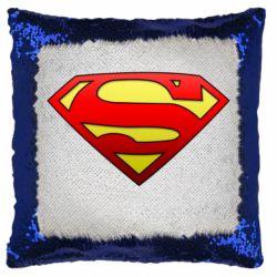 Подушка-хамелеон Superman Logo