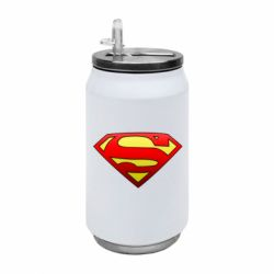 Термобанка 350ml Superman Logo