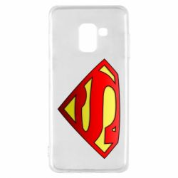 Чехол для Samsung A8 2018 Superman Logo
