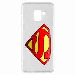 Чехол для Samsung A8+ 2018 Superman Logo
