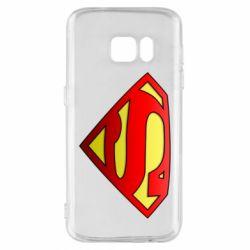 Чехол для Samsung S7 Superman Logo
