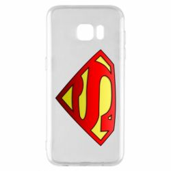Чохол для Samsung S7 EDGE Superman Logo