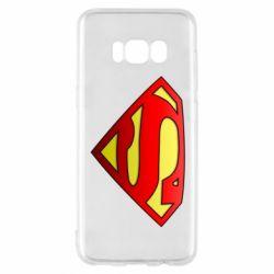 Чехол для Samsung S8 Superman Logo
