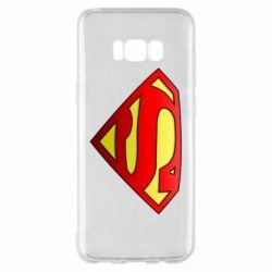 Чехол для Samsung S8+ Superman Logo