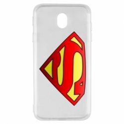 Чехол для Samsung J7 2017 Superman Logo