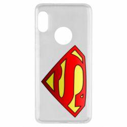Чехол для Xiaomi Redmi Note 5 Superman Logo