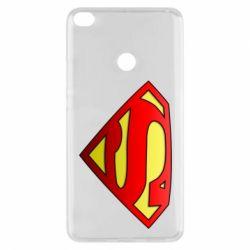 Чехол для Xiaomi Mi Max 2 Superman Logo