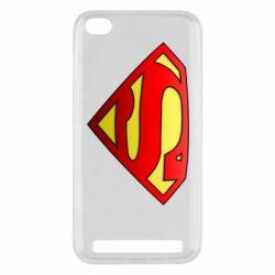 Чехол для Xiaomi Redmi 5a Superman Logo