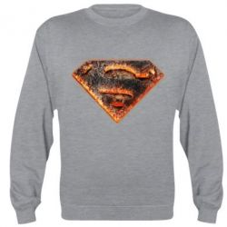 Реглан (свитшот) Superman Molten metal