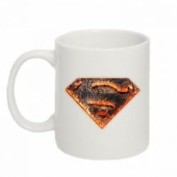 Кружка 320ml Superman Molten metal - FatLine