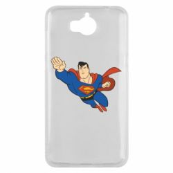 Чехол для Huawei Y5 2017 Superman mult - FatLine