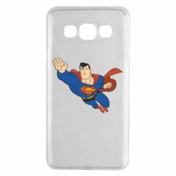 Чехол для Samsung A3 2015 Superman mult - FatLine