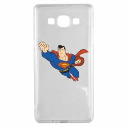 Чехол для Samsung A5 2015 Superman mult - FatLine
