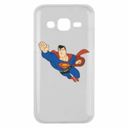 Чехол для Samsung J2 2015 Superman mult - FatLine