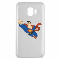 Чехол для Samsung J2 2018 Superman mult - FatLine