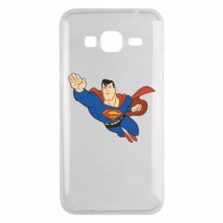 Чехол для Samsung J3 2016 Superman mult - FatLine