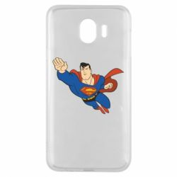 Чехол для Samsung J4 Superman mult - FatLine
