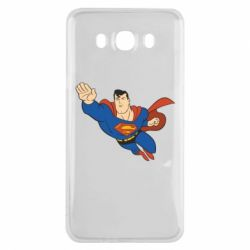 Чехол для Samsung J7 2016 Superman mult - FatLine