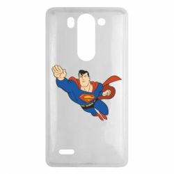 Чехол для LG G3 mini/G3s Superman mult - FatLine