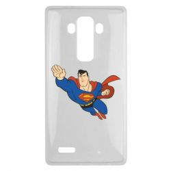 Чехол для LG G4 Superman mult - FatLine
