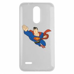 Чехол для LG K7 2017 Superman mult - FatLine