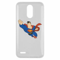 Чехол для LG K10 2017 Superman mult - FatLine