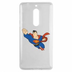 Чехол для Nokia 5 Superman mult - FatLine