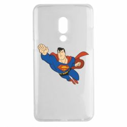 Чехол для Meizu 15 Plus Superman mult - FatLine