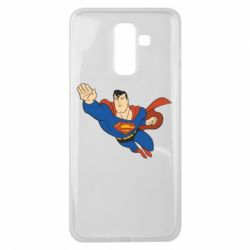Чехол для Samsung J8 2018 Superman mult - FatLine