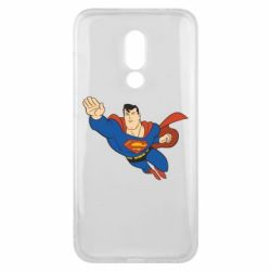 Чехол для Meizu 16x Superman mult - FatLine