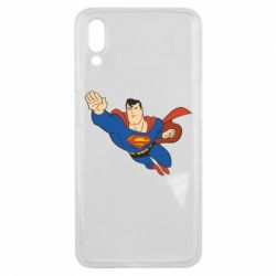 Чехол для Meizu E3 Superman mult - FatLine