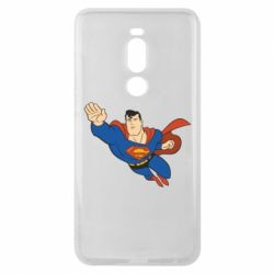 Чехол для Meizu Note 8 Superman mult - FatLine