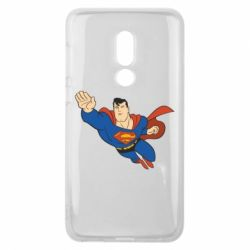 Чехол для Meizu V8 Superman mult - FatLine