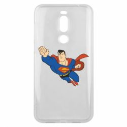 Чехол для Meizu X8 Superman mult - FatLine