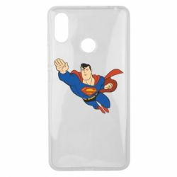 Чехол для Xiaomi Mi Max 3 Superman mult - FatLine
