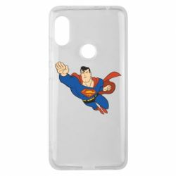 Чехол для Xiaomi Redmi Note 6 Pro Superman mult - FatLine