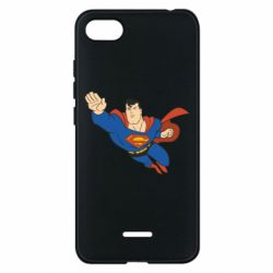 Чехол для Xiaomi Redmi 6A Superman mult - FatLine