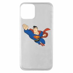 Чехол для iPhone 11 Superman mult