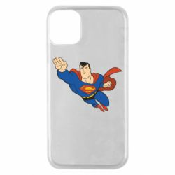 Чехол для iPhone 11 Pro Superman mult