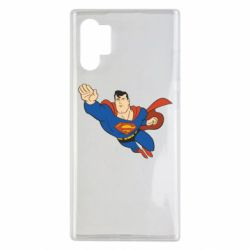 Чехол для Samsung Note 10 Plus Superman mult