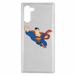 Чехол для Samsung Note 10 Superman mult