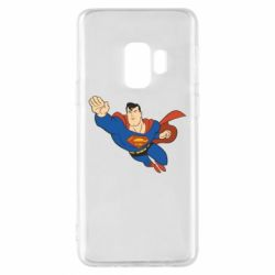 Чехол для Samsung S9 Superman mult - FatLine