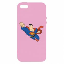 Чехол для iPhone5/5S/SE Superman mult - FatLine