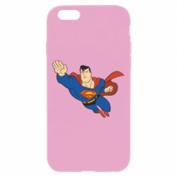 Чехол для iPhone 6/6S Superman mult - FatLine