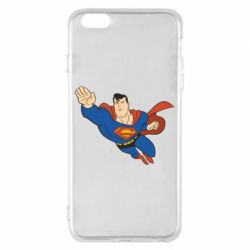 Чехол для iPhone 6 Plus/6S Plus Superman mult - FatLine