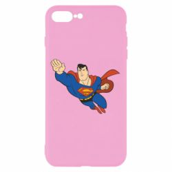 Чехол для iPhone 7 Plus Superman mult