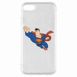 Чехол для iPhone 8 Superman mult - FatLine