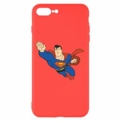 Чехол для iPhone 8 Plus Superman mult - FatLine