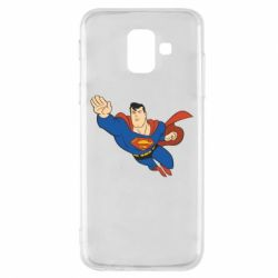 Чехол для Samsung A6 2018 Superman mult - FatLine