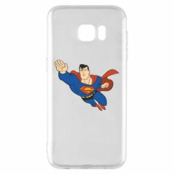 Чехол для Samsung S7 EDGE Superman mult